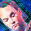 Dave Matthews Open Up My Head Poster by Joshua Morton