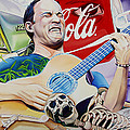 Dave Matthews Seek Up Print by Joshua Morton