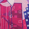 Dawn to Dusk in the City Print by Julia and David Bowman