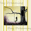 Day Dreaming in Yellow by Shawna Erback Print by Shawna Erback