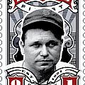 DCLA Jimmie Fox Fenway's Finest Stamp Art Print by DCLA Los Angeles