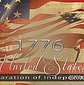 Declaration of Independence  Print by Beverly Guilliams