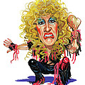 Dee Snider Print by Art