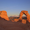 Delicate Arch at Sunset-2 Print by Alan Vance Ley