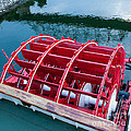 Delta Queen Paddle Wheel Print by Kay Pickens