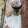 Dented Doorknob Print by Caitlyn  Grasso