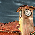 Depot Time Poster by Brenda Bryant