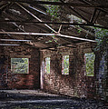 Derelict Building Print by Christopher and Amanda Elwell