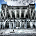 Detroit's Abandoned Michigan Central Train Station Depot Poster by Gordon Dean II