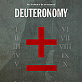 Deuteronomy Books of the Bible Series Old Testament Minimal Poster Art Number 5 Print by Design Turnpike