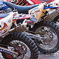 Dirt Bikes Print by Rick Piper Photography