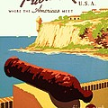 Discover Puerto Rico Print by PG REPRODUCTIONS