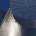 Disney Hall Abstract Poster by Rona Black