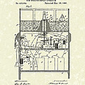 Display Apparatus 1890 Patent Art Poster by Prior Art Design