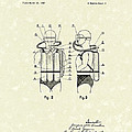 Diving Unit 1949 Patent Art  Poster by Prior Art Design