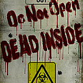 DO NOT OPEN  Poster by Cinema Photography