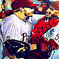 Doc's No Hitter Poster by Kevin J Cooper Artwork