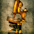 Doctor - Microscope - The start of modern science Print by Mike Savad