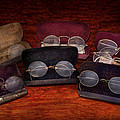 Doctor - Optometrist - Array of Opticals Print by Mike Savad