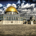 Dome of the Rock Closeup HDR Print by David Morefield