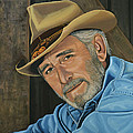 Don Williams Print by Paul  Meijering