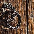 Door Knocker Print by Heather Applegate