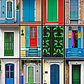 Doors New Orleans Print by Christine Till