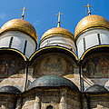 Dormition Cathedral - Square Poster by Alexander Senin
