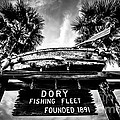 Dory Fishing Fleet Sign Picture in Newport Beach Poster by Paul Velgos