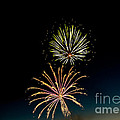 Double Fireworks Blast by Robert Bales