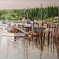 DOWNEAST REFLECTIONS Print by Karol Wyckoff
