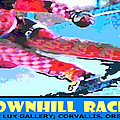 Downhill Racer Poster by Mike Moore FIAT LUX