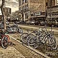Downtown Coeur d'Alene Idaho Poster by Scarlett Images Photography
