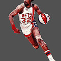 Dr. J Poster by Charley Pallos