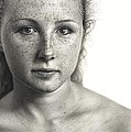 Drawn Face III - Alison by Dirk Dzimirsky