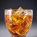 Drink on ice Print by Carlos Caetano