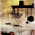 Early Kitchen Tools Print by Marcia Lee Jones