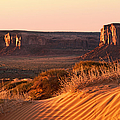 Early morning in Monument Valley Print by Jane Rix