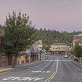 Early Morning Placerville Poster by Steve Barr
