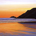 Earth Sunrise Sea Print by Paul  Meijering
