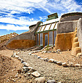 Earthship Taos  by Shanna Gillette