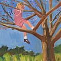 Easter in the Apple Tree Poster by Betty Pieper