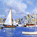 Easy Street Basin Blues Print by Candace Lovely