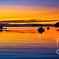 Echo Bay Sunset Print by Robert Bales