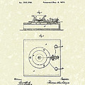 Edison Telephone 1879 Patent Art Poster by Prior Art Design