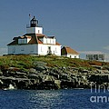 Egg Rock Lighthouse Print by Kathleen Struckle