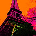 Eiffel 20130115v1 Poster by Wingsdomain Art and Photography