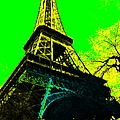 Eiffel 20130115v2 Poster by Wingsdomain Art and Photography