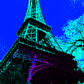 Eiffel 20130115v4 Poster by Wingsdomain Art and Photography