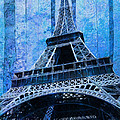 Eiffel Tower 2 Poster by Jack Zulli